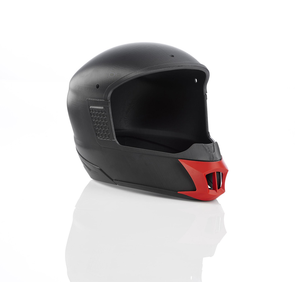 kask motocykowy 3D